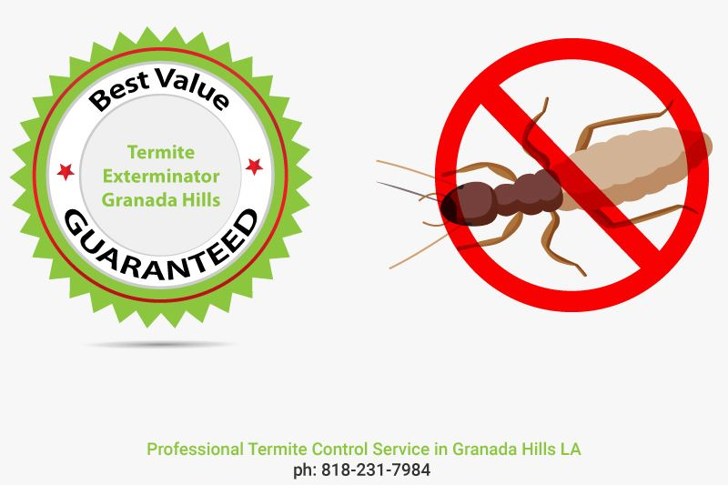 best value guaranteed termite control service Granada Hills LA