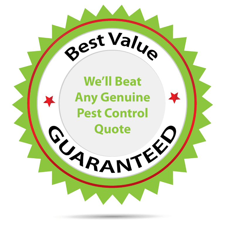 best value for money guarantee for pest control